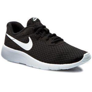 Nike Tanjun Womens Black and White Shoes